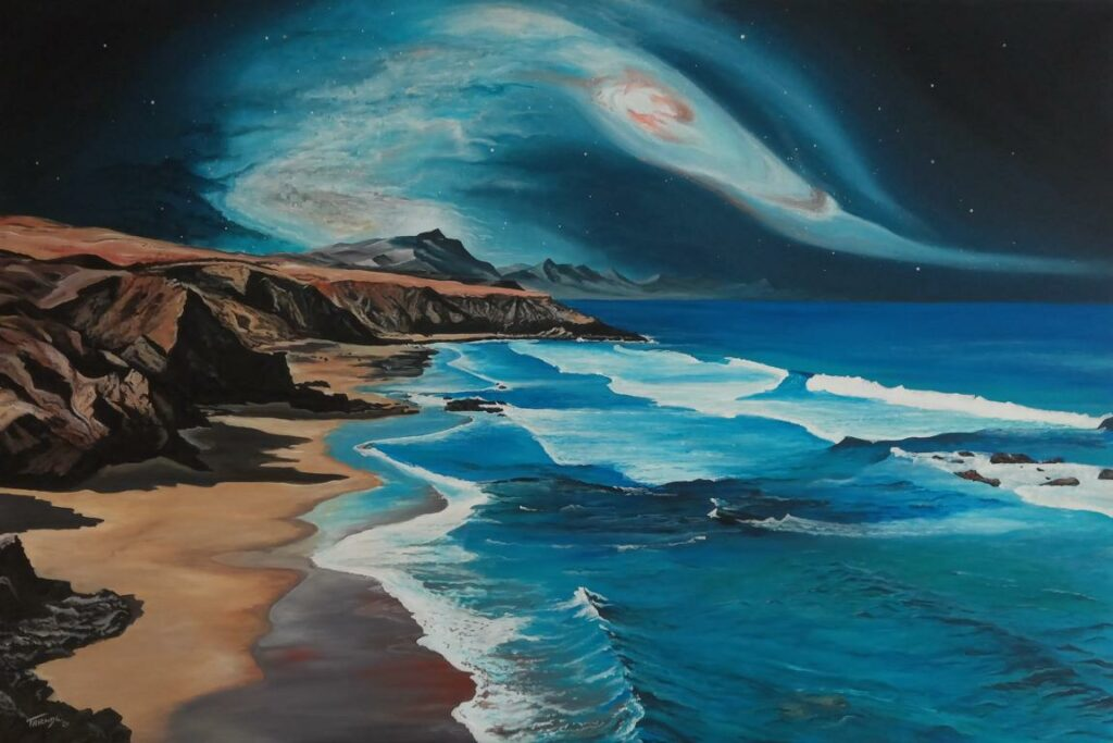 Fuerteventura - Acryl/Leinwand - 80x120cm
