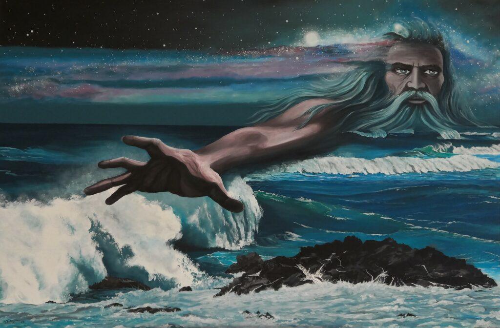 Poseidon - Acryl/Leinwand - 80x120cm