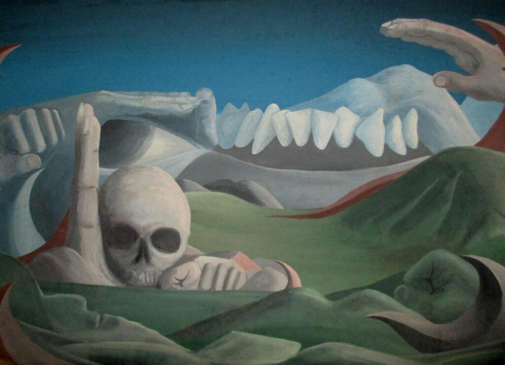 Rache der Natur - Öl/Holz 1976