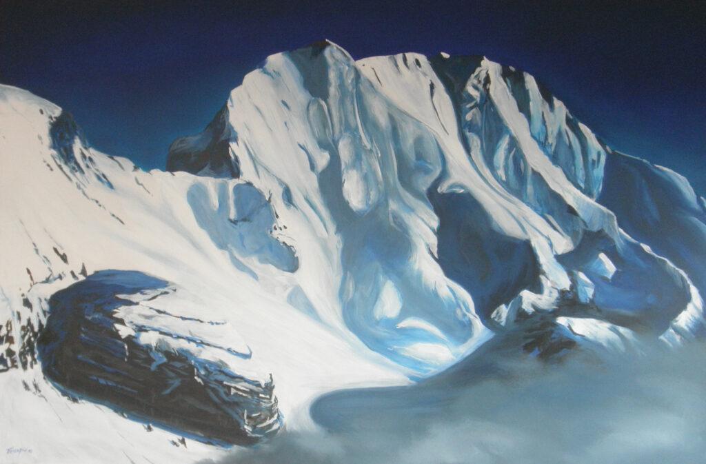 Solstein - Acryl/Leinwand - 80x100cm