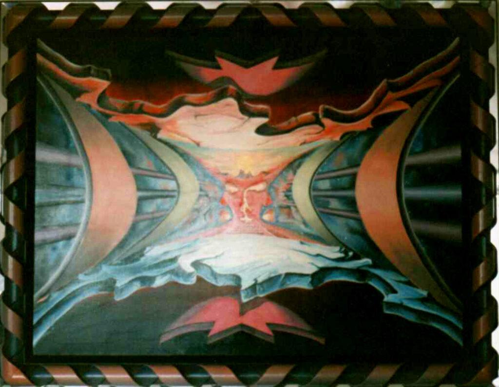 Trimare Ment - Öl/Leinwand - 120x160cm