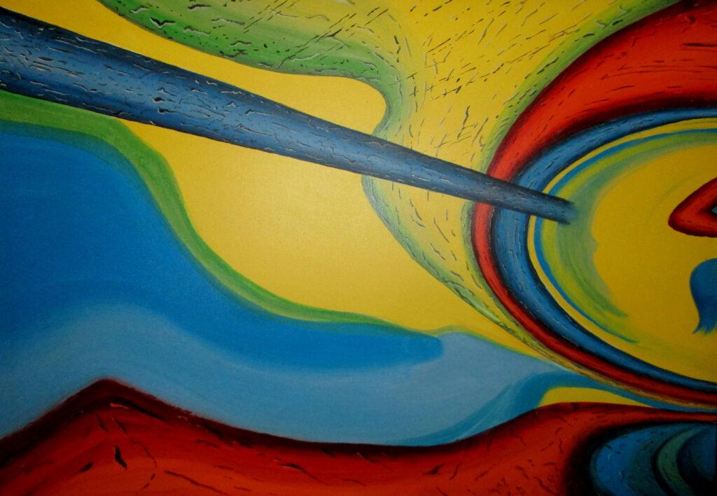 Trip dich on 1 - Acryl/Leinwand - 60x80cm
